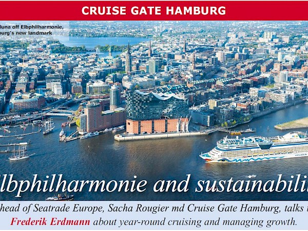 Seatrade Cruise Review: Editorial Article about Cruise Gate Hamburg in June 2017 issue